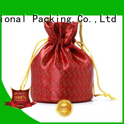 Yonghuajie natural material brocade purse free sample for storage