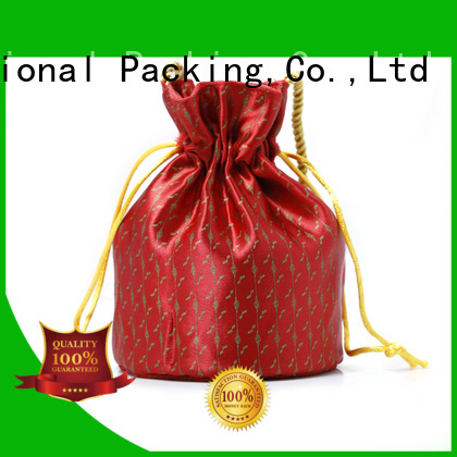 Yonghuajie natural material brocade purse free sample for storage