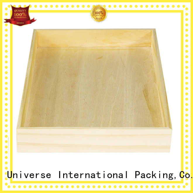 Yonghuajie display wooden box packaging for display