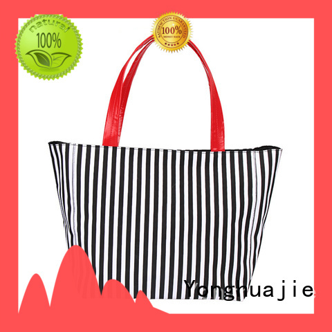 Yonghuajie natural canvas tote bags wholesale star printed for travel