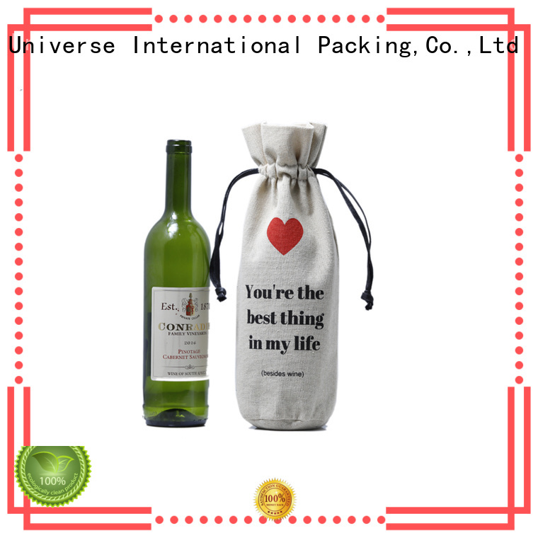 wine linen Yonghuajie Brand linen totes