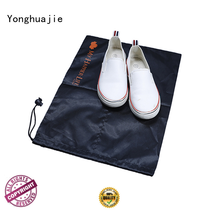 Yonghuajie drawstring polyester bag with drawstring