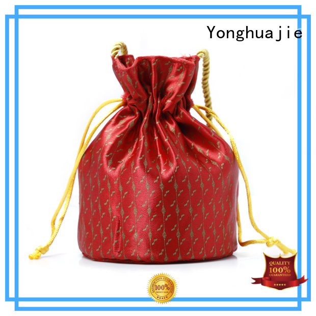 soft brocade bag high-end for packing Yonghuajie
