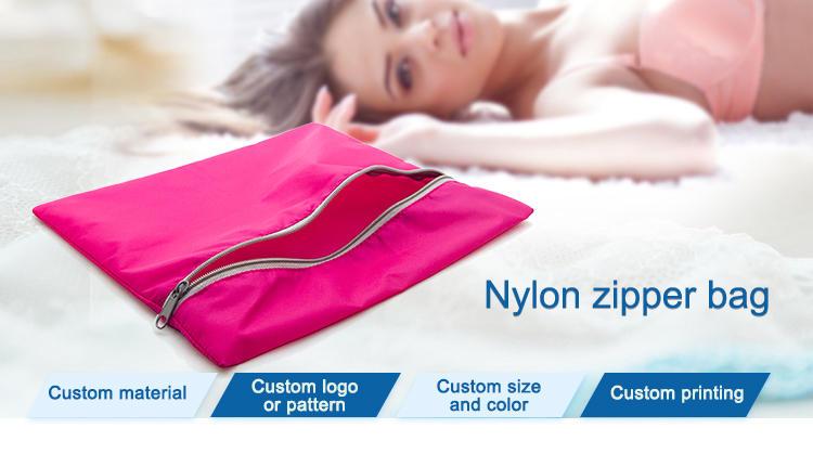 tote nylon drawstring bag silk with drawstring for shoes-1