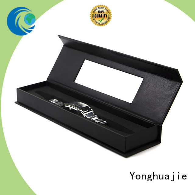 Yonghuajie printed tie gift box at discount for watch packing