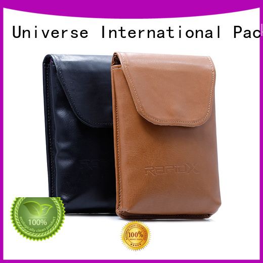 spring sunglasses leather cosmetic pouch green Yonghuajie company