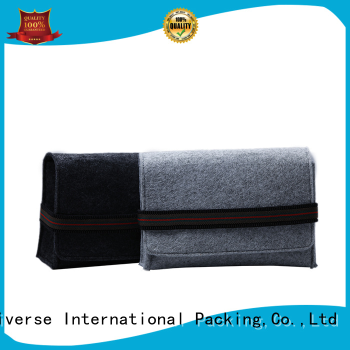 customized made felt tote bag flap high-end Yonghuajie company