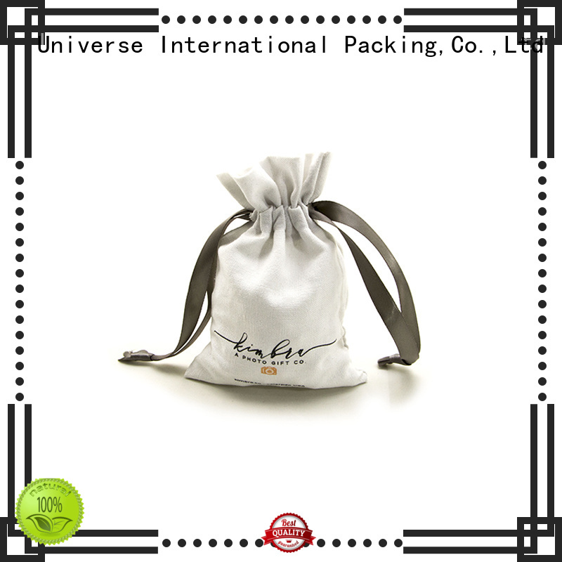 close linen pouch linen drawstring bag free sample for school Yonghuajie