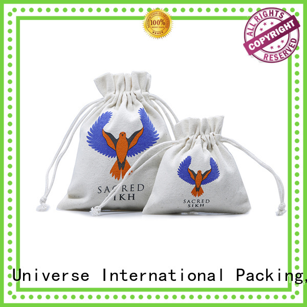 natural small canvas bags large size glitter for jewelry