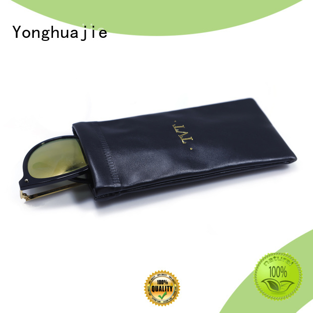 custom sunglasses pouch at discount for jewelry Yonghuajie