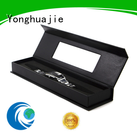 small printed gift boxes ribbon factory for watch packing