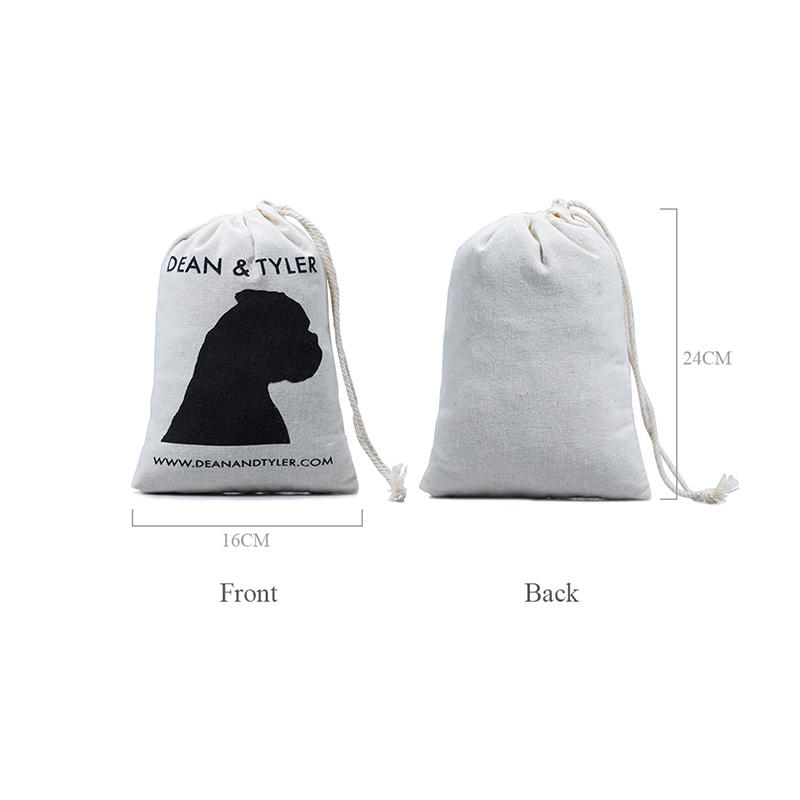 cotton drawstring bags with power bank for packing Yonghuajie-1