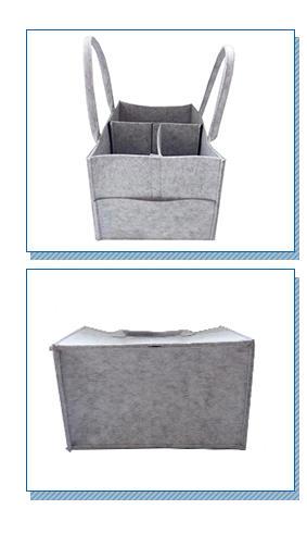 Yonghuajie embroidered felt organizer Supply for storage-2