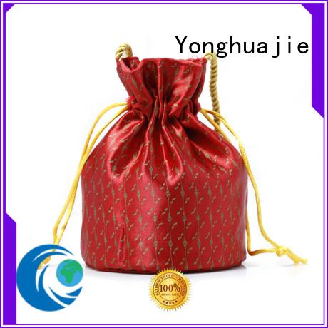 Yonghuajie new arrival silk handbag high quality for wine