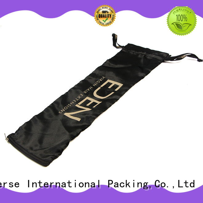 Yonghuajie high-end satin hair bags with drawstring for cosmetics