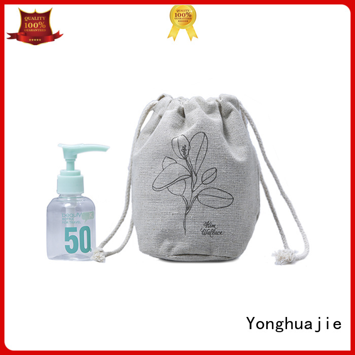 Yonghuajie on-sale linen laundry bag linen gift bags coating for shopping