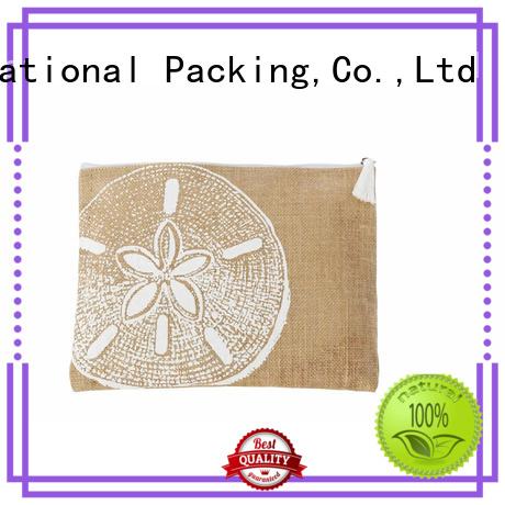 Yonghuajie drawstring white shopping bag free sample for storage