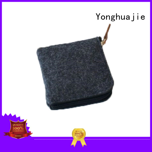 Yonghuajie High-quality felt purse for business for goods