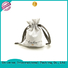 natural linen pouch linen drawstring bag coating for students Yonghuajie