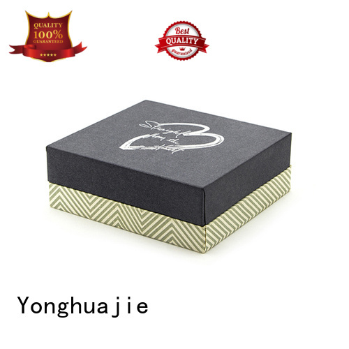 Yonghuajie plastic black plastic box Supply for packaging