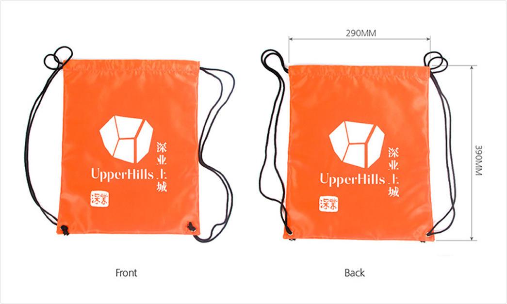 Yonghuajie drawstring 600d nylon Supply for packing-1