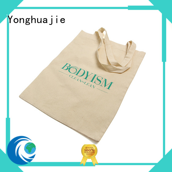 Yonghuajie linen bags wholesale with power bank for packaging