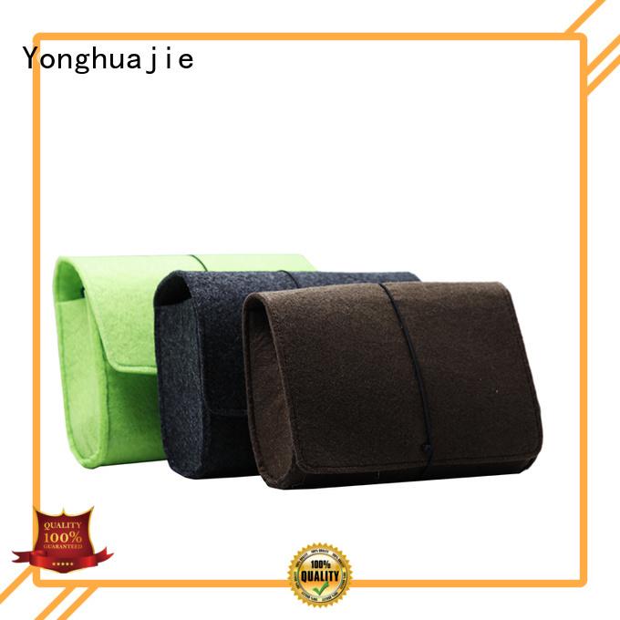 storage made flap felt tote bag Yonghuajie