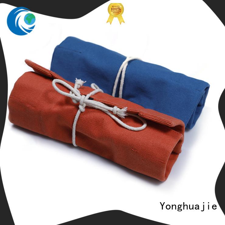 tassel wholesale canvas bags custom size for packaging Yonghuajie