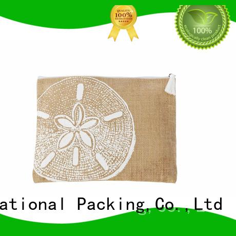 natural material personalised jute bags jute wine bag for wholesale for wine