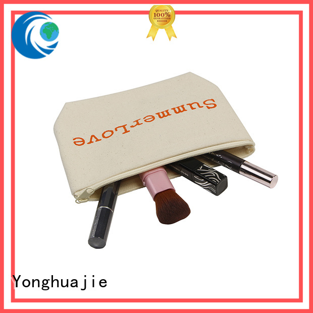 printing heavy canvas tote bag pu leather glitter for makeup