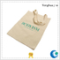 tote colored canvas tote bags printed with zipper for packaging