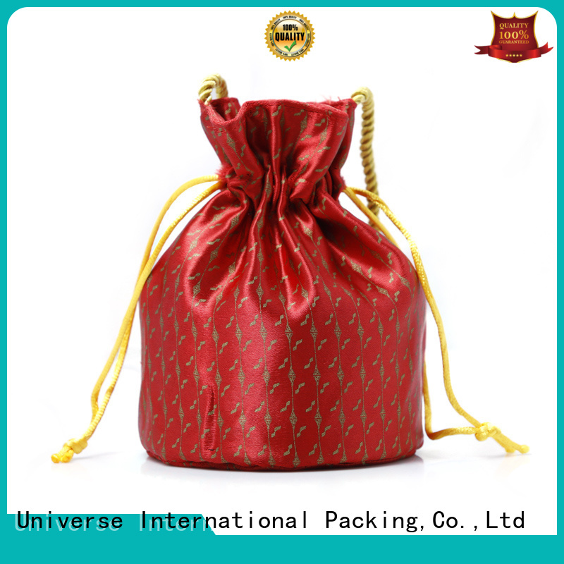 High-quality chinese silk bag soft for business for packing