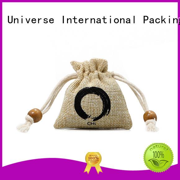 jute gift bags tote handle Yonghuajie Brand