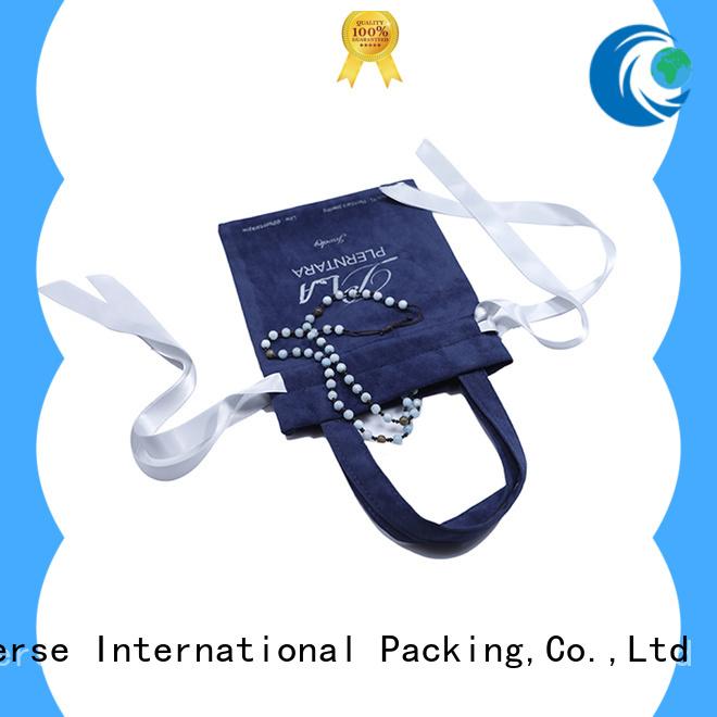 Yonghuajie purple velvet bag top-selling for jewelry store