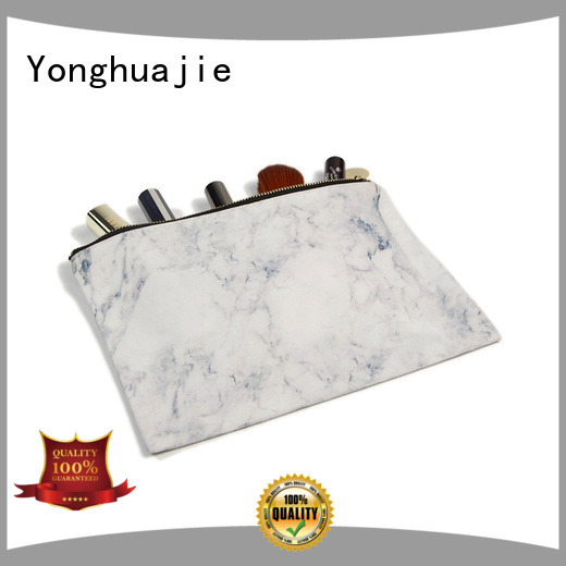 cotton drawstring bags with zipper Yonghuajie