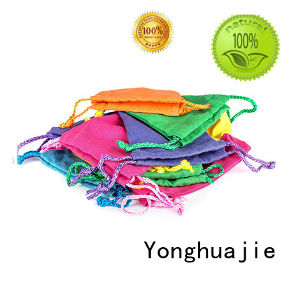 Yonghuajie canvas tote bags with zipper strong for cosmetic