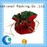 Yonghuajie plastic velvet drawstring bag top manufacturer for packing