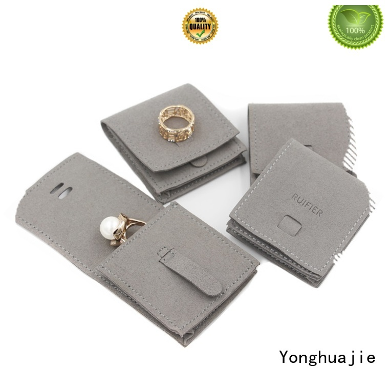 Yonghuajie new arrival suede leather wallet Supply for present