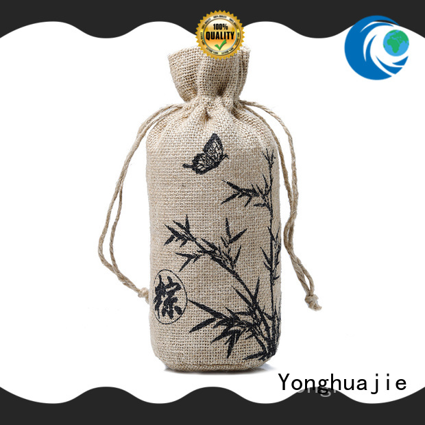 Yonghuajie high-quality jute bags manufacturers for wholesale for wine