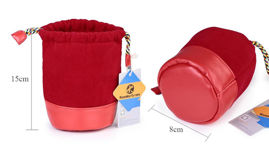 Yonghuajie printed logo velvet makeup bag cheap for packaging-1