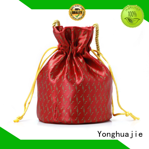 soft brocade bag high quality for packing Yonghuajie