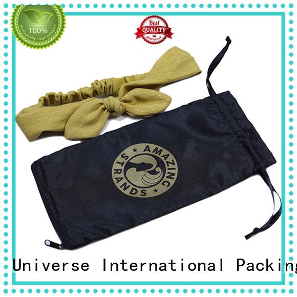 Custom satin bags logo printed company for shopping