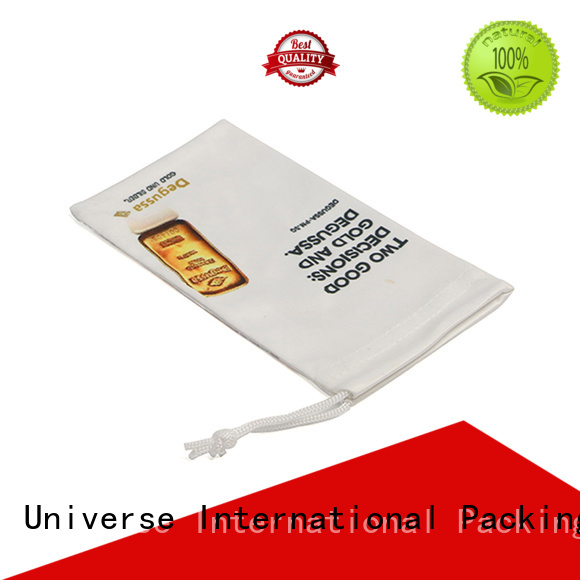 by bulk microfiber pouch high-end Supply for gift