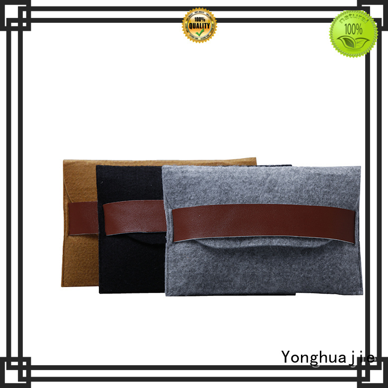 Yonghuajie felt tote bag for wholesale for storage