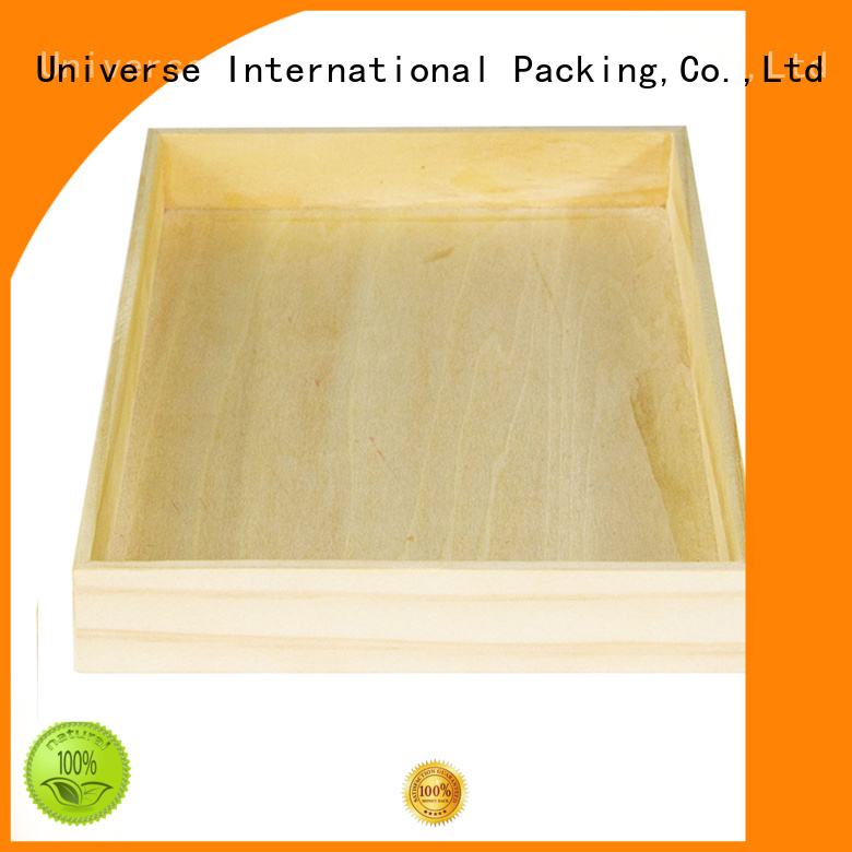 Yonghuajie latest design little wooden boxes durable for gift