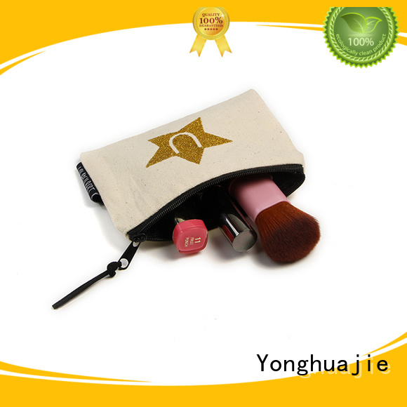 Yonghuajie order canvas travel bags manufacturers for makeup