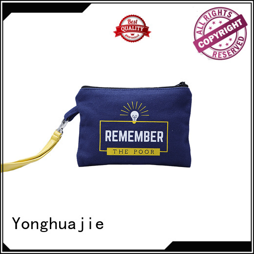 canvas natural personalized canvas tote bags Yonghuajie manufacture