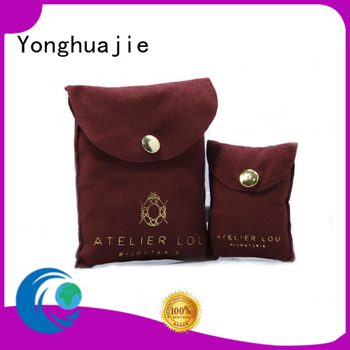 customized grey suede bag suede jewelry pouch suede drawstring bag free sample for friends