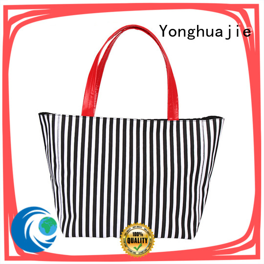 Yonghuajie Wholesale striped canvas tote bag Suppliers for jewelry