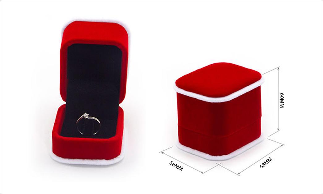 odm crushed velvet box velvet ring boxprinted for necklace-1